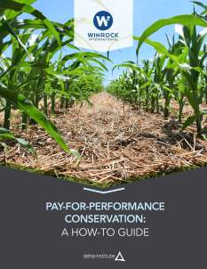 New Pay-For-Performance Conservation Guide Provides Alternative Nonpoint Source Reduction Solution