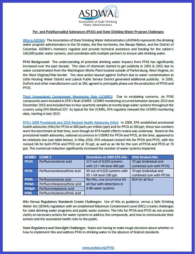 ASDWA PFAS handout