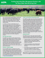 EPA Fact Sheet on Funding Agricultural BMPs with CWSRF