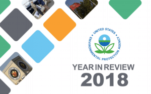 EPA Releases 2018 Year in Review