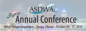 Submit your Abstracts Now for the October 2019 ASDWA Annual Conference!
