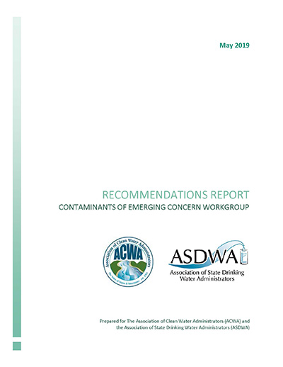 ASDWA-ACWA Report on Contaminants of Emerging Concern