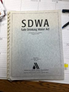 12/16/19 – 45th Anniversary of the Safe Drinking Water Act (SDWA)