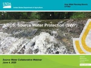 New NRCS Bulletin on Refining Source Water Protection Local Priorities