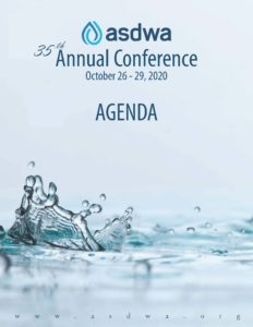 Join ASDWA Online Next Week for the 2020 Annual Conference