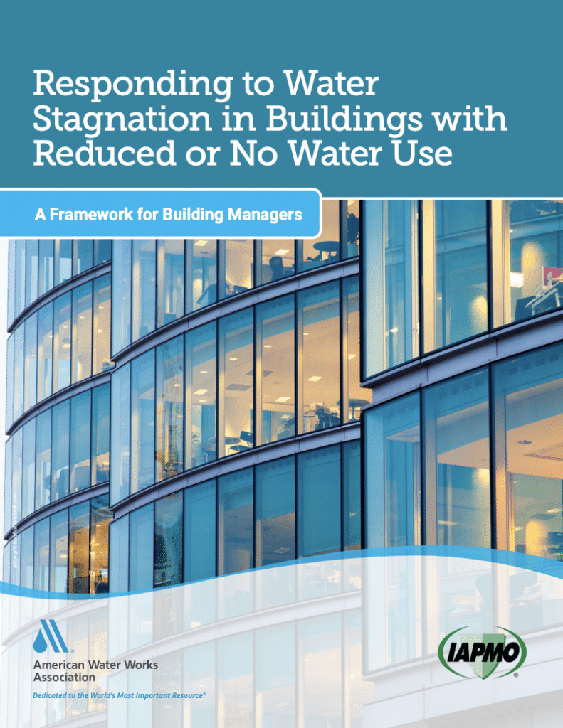 AWWA and IAPMO Release New Resource on Water Stagnation in Buildings