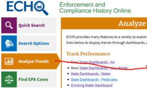 PFAS Analytic Tools: ECHO National Training Webinar for Government Users