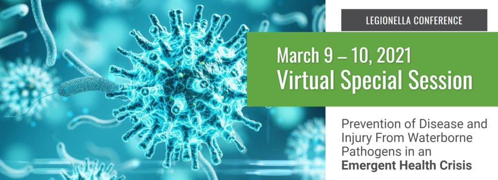 Virtual NEHA & NSF Legionella Conference Next Month