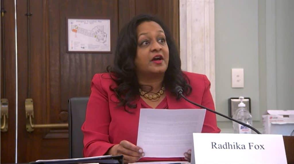 Radhika Fox Confirmed by Senate to Lead EPA Water Office
